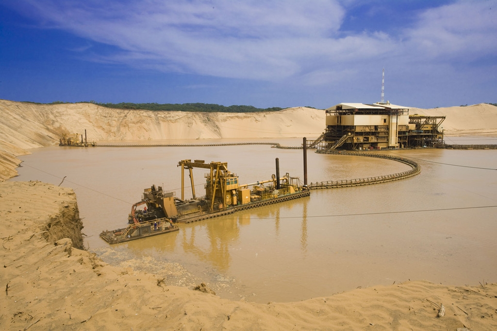 Richards Bay Minerals, South Africa. Copyright © 2014 Rio Tinto.