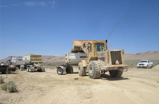Mining hectorite