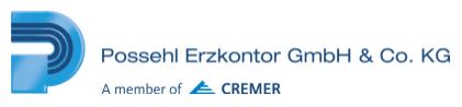 PossErz logo with Cremer