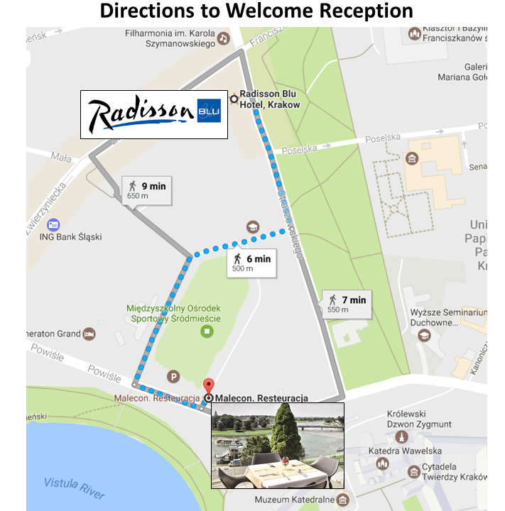 Welcome Reception Directions web