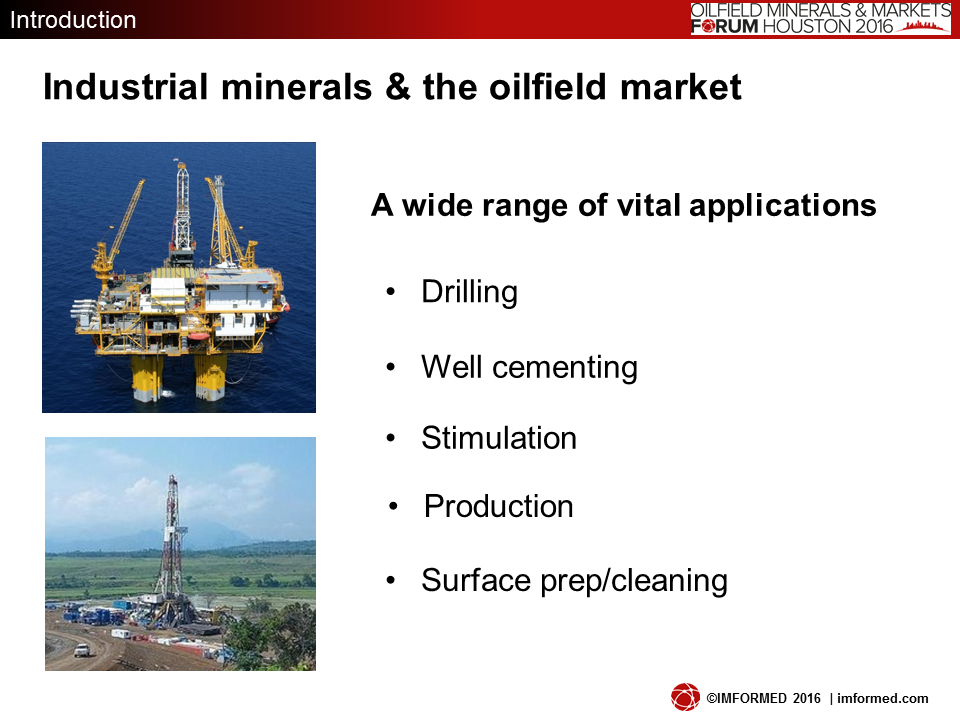 Oilfield applications