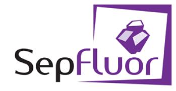 SepFluor logo