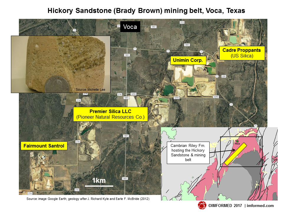 Voca TX FS mine locations