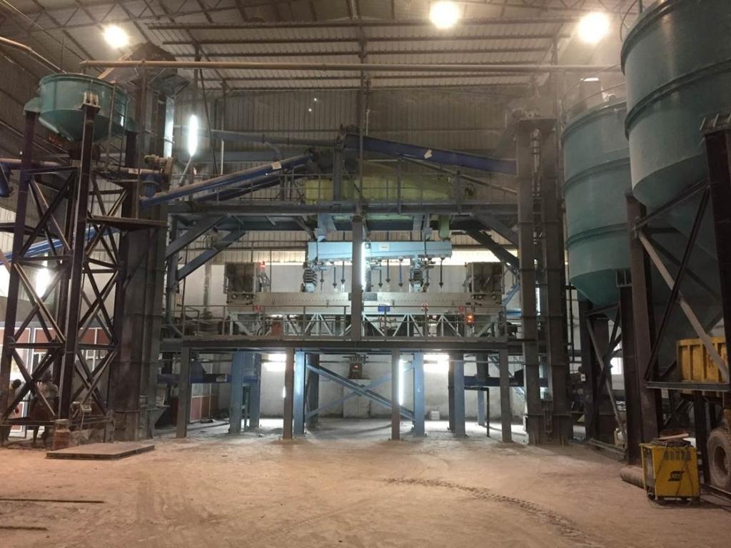 STET plant at Ramadas Minerals