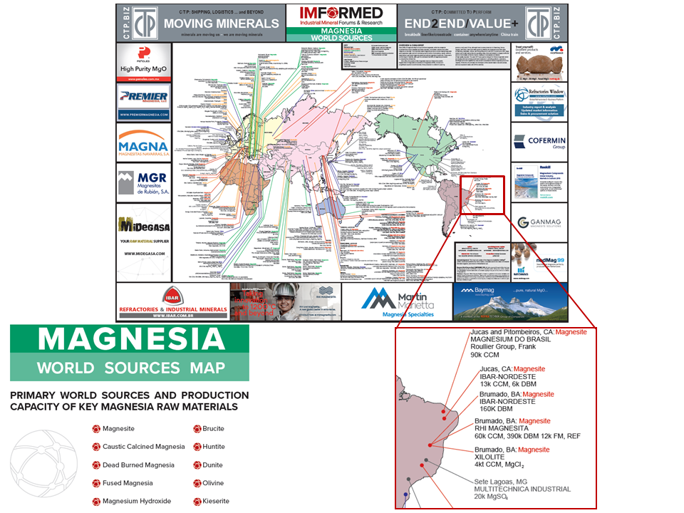 Industrial Minerals Networking | IMFORMED – Magnesia World Sources on topographical map of the world, regions map of the world, energy map of the world, income map of the world, water map of the world, small scale map of the world, general map of the world, geophysical map of the world, school map of the world, country map of the world, economic map of the world, flat map of the world, culinary map of the world, aerial map of the world, the political map of the world, geographical map of the world, traditional map of the world, travel map of the world, natural resource map of the world, military map of the world,