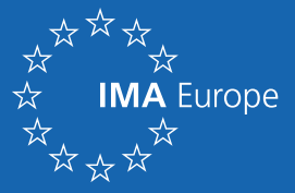 IMA-Europe white on blue