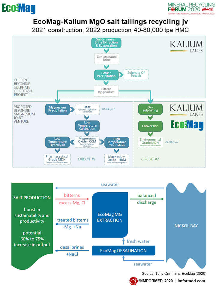 EcoMag process