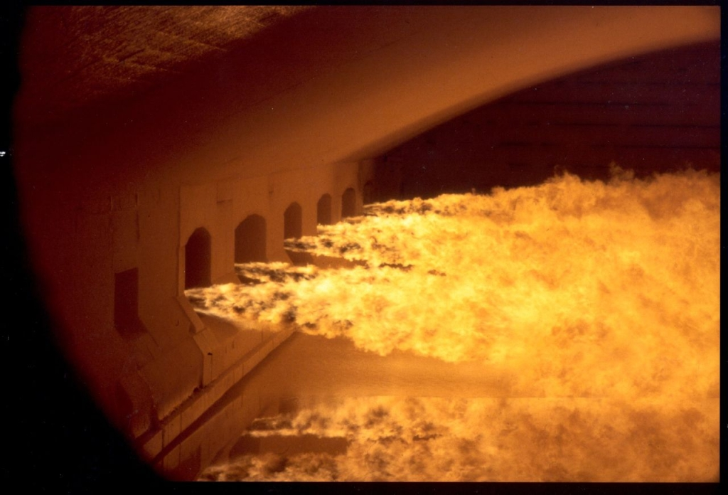 Glass furnace ref